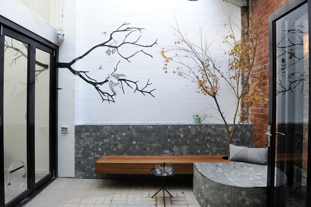 COMPLETED COURTYARD | Image by Vanessa Hall