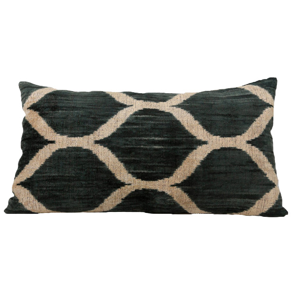 SARAY SILK VELVET CUSHION | Cultiver