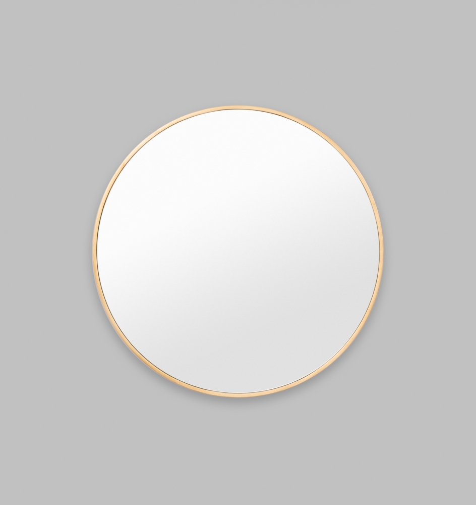 NEW ROUND BRASS MIRROR | Print Decor