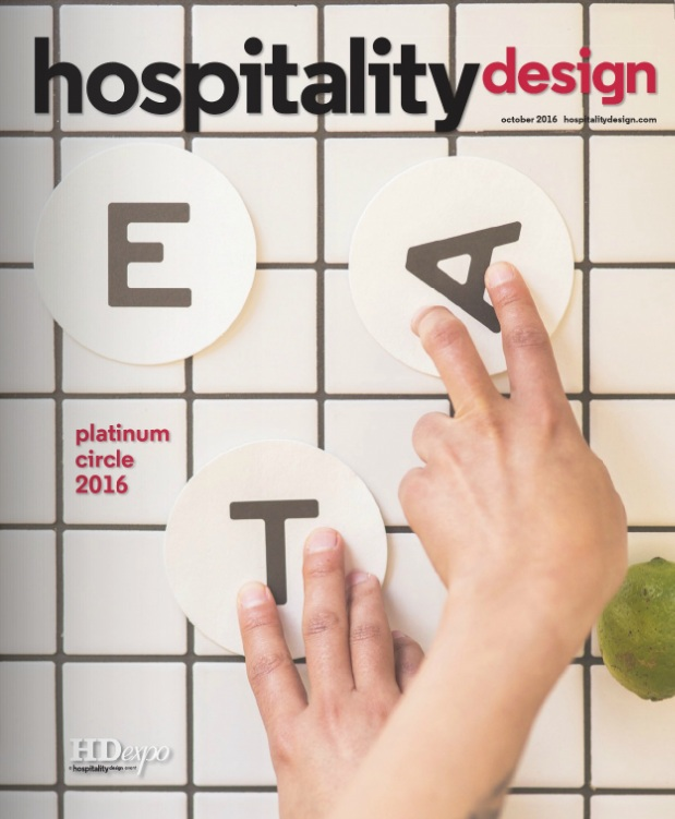 OCTOBER 2016 | HOSPITALITY DESIGN - EAT BURGER