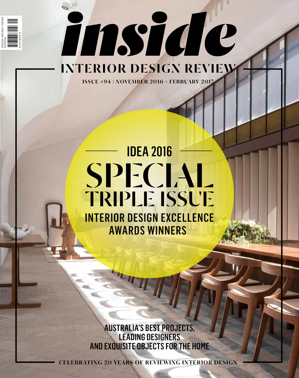 DECEMBER 2016  | INSIDE MAGAZINE - INSIDE OUT HOUSE