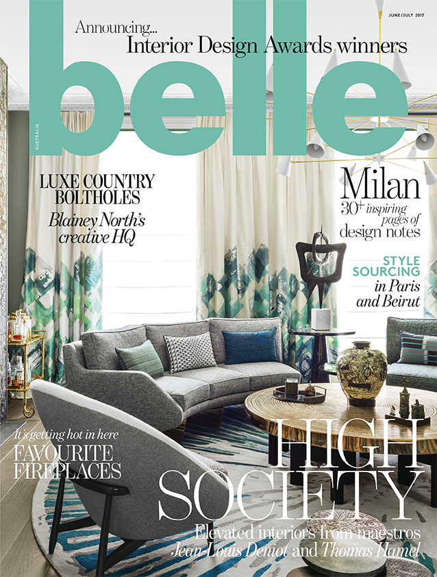 MAY 2017  | BELLE MAGAZINE - INTERIOR DESIGN AWARD WINNERS