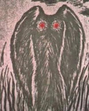 The Mothman Illustration
