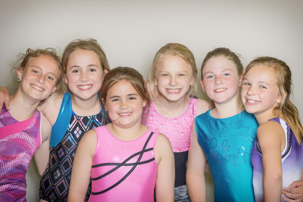 Left to Right  Hanna, Joy, MK, Maci, Darby and Nan!
