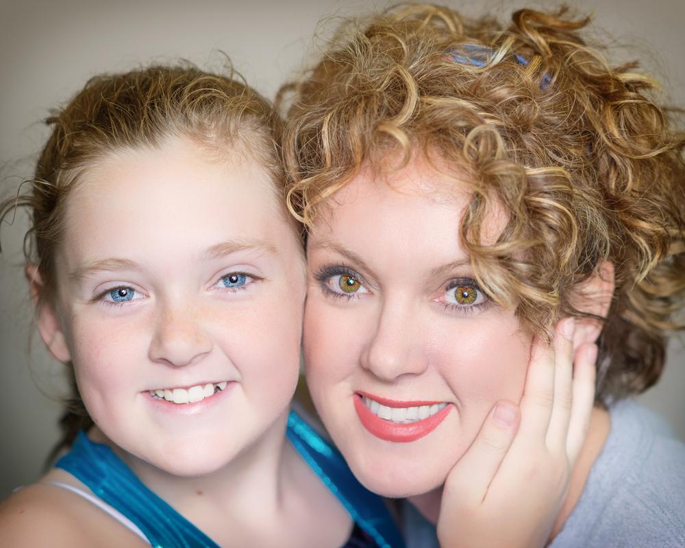 Coach Nikki and her daughter Maci!