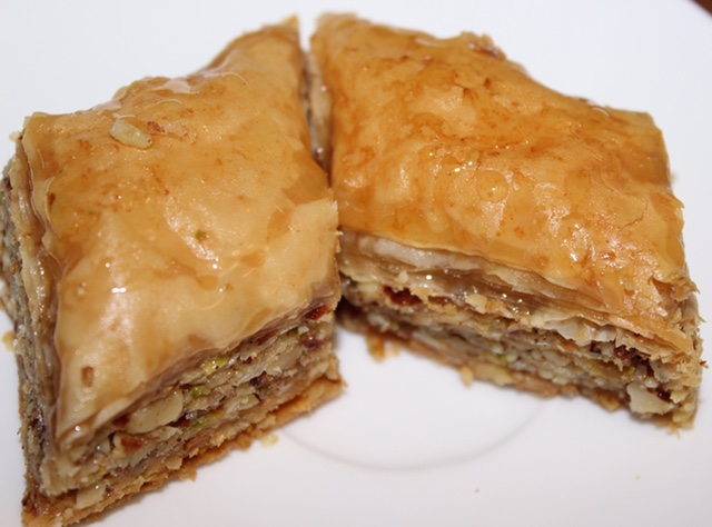 Baklava ( Walnut, Pistachio or Hazelnut )