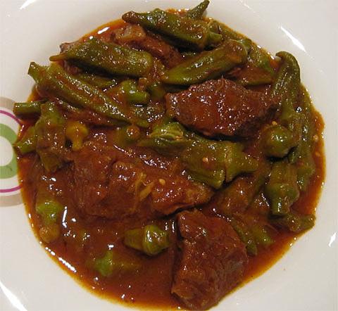 Bamia ( Okra Stew )