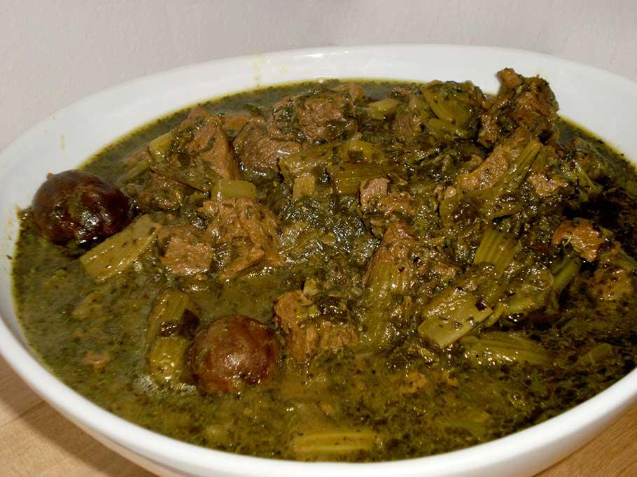 Salary Stew ( Karafs )
