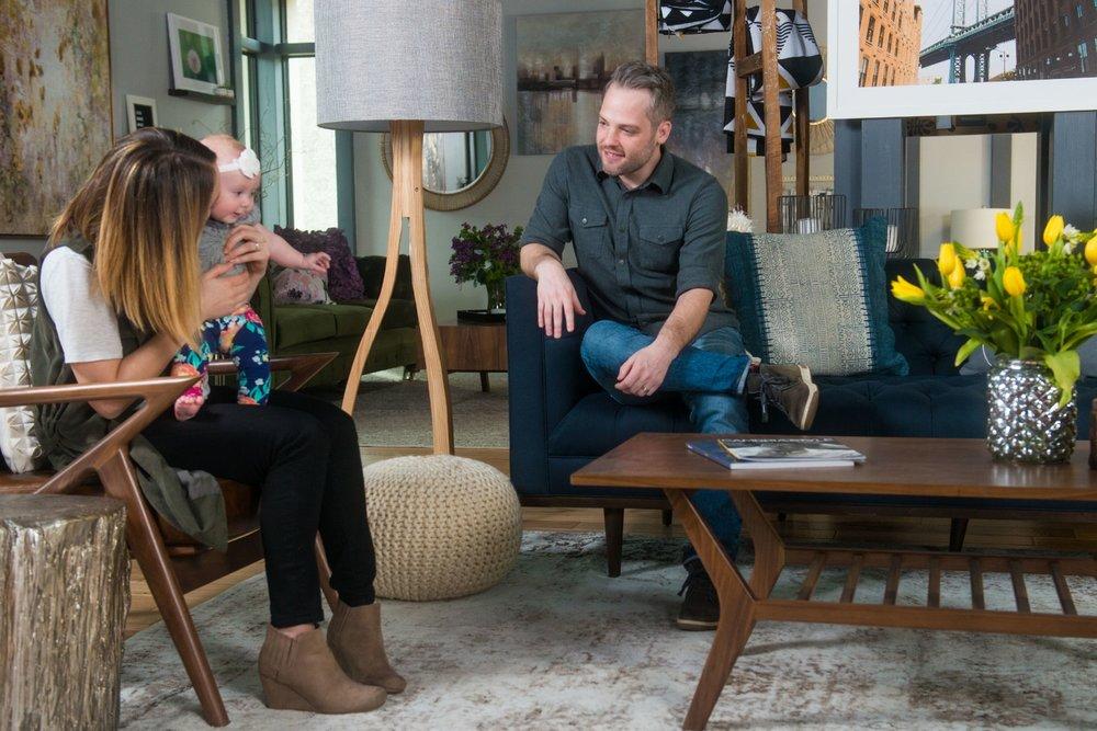 Home decor, furnishings, interior styling + design, custom furniture at Arcadia PDX.