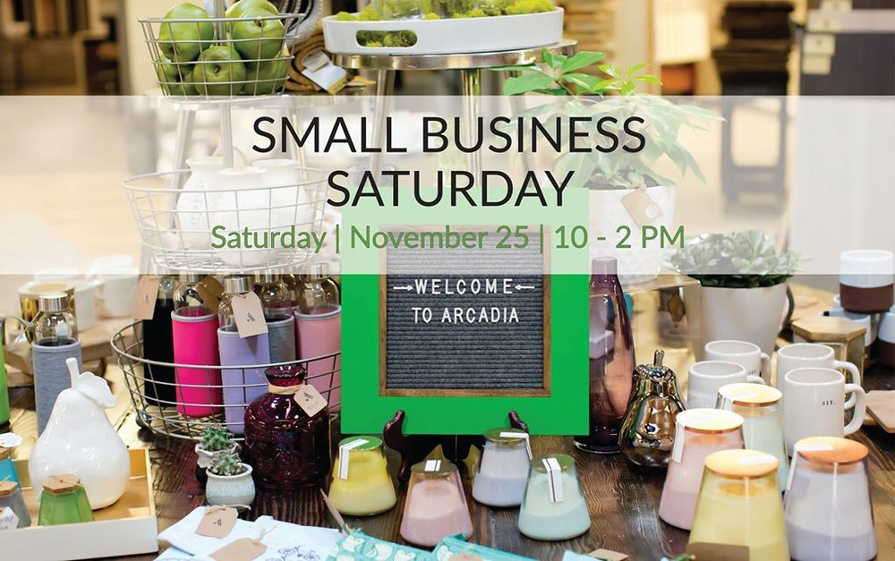 Small Business Saturday - Arcadia PDX.jpg