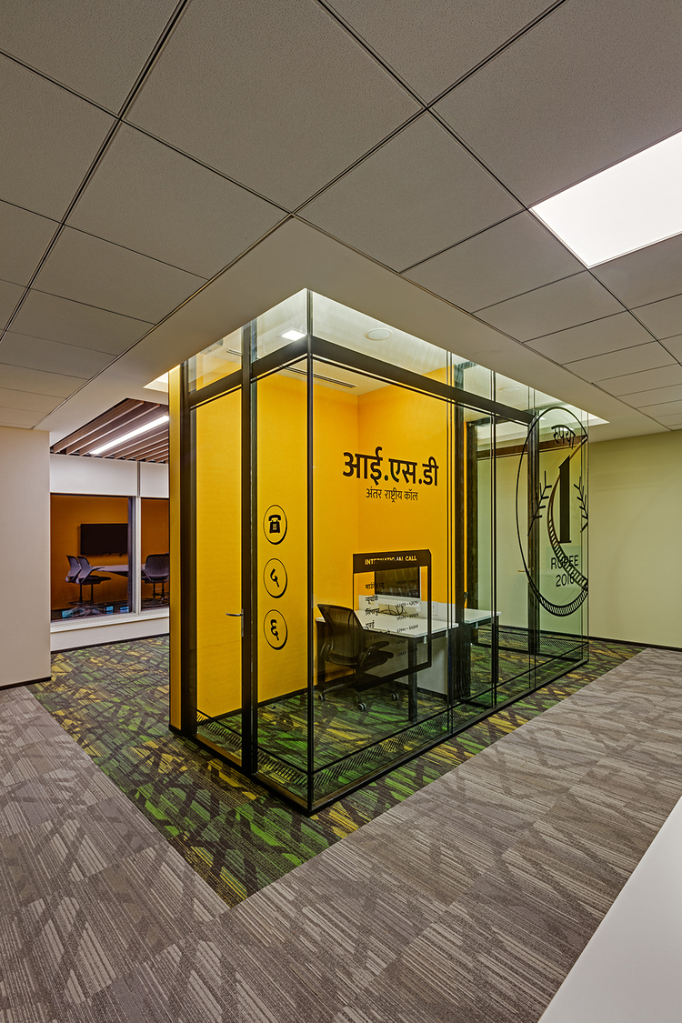Linkedin-Bangalore-Office-Phonebooth-Bhushanraj