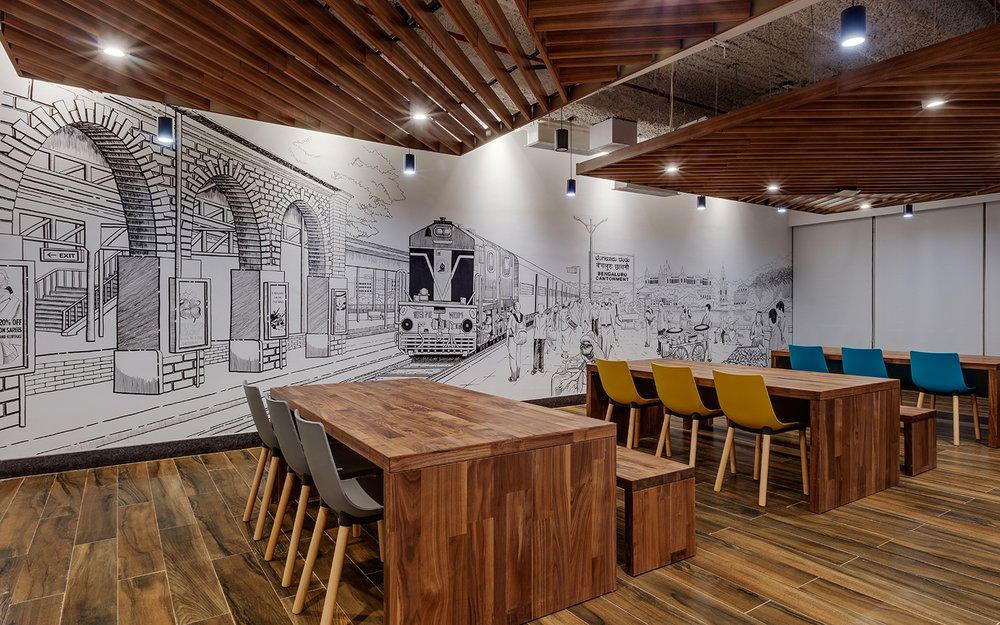 Linkedin-Bangalore-Office-Mural-Bhushanraj