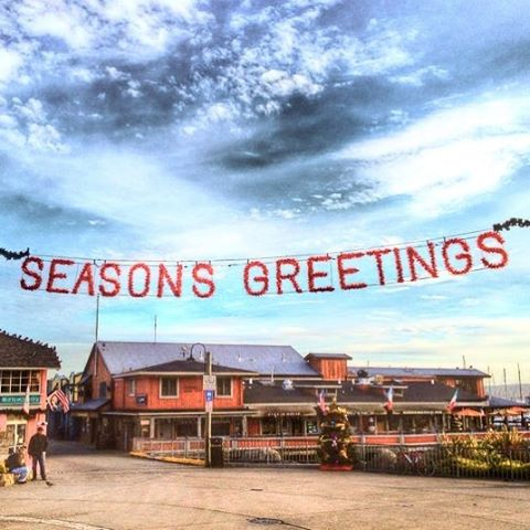 Who else can't wait for the holiday decor throughout the Monterey Peninsula to go up! #Monterey #montereychristmas #pacificgrove #carmel #montereybay #christmas #wharf #seasonsgreetings