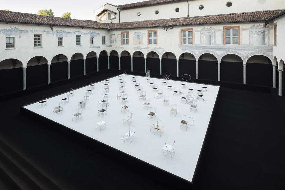 50 Manga chairs installation by Nendo for Friedman Benda.jpg