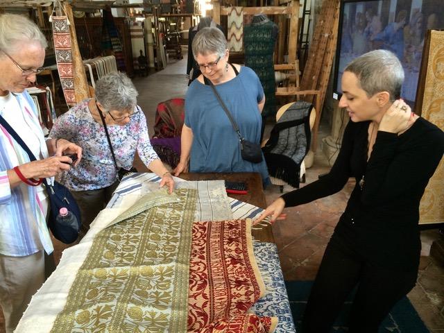 Giuditta Brozzetti handwoven textiles atelier, Perugia