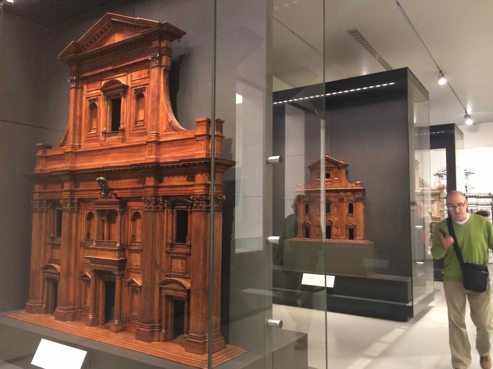 Architectural models at Museo dell'Opera del Duomo, Florence