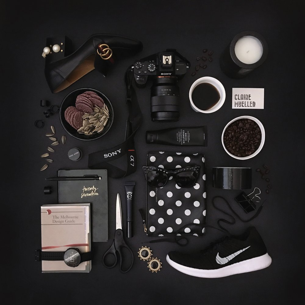 CM x Run Your Style flatlay