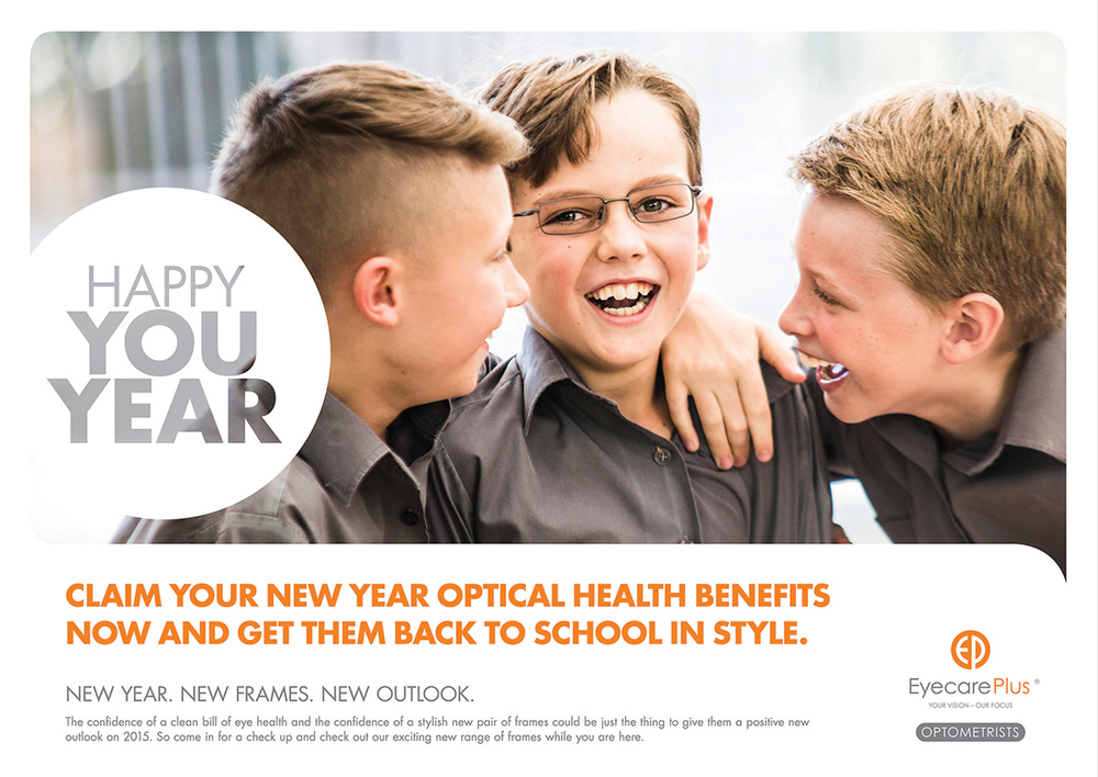 Client: Eyecare Plus Agency: Brainheart