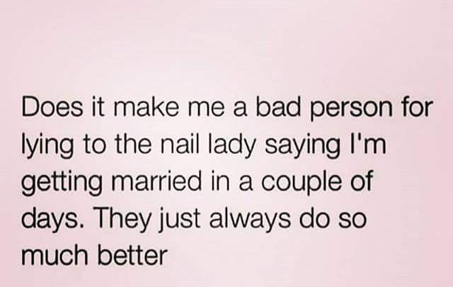 Yes it does but we understand lol #nails