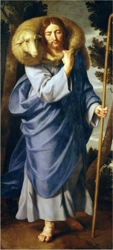 http://commons.wikimedia.org/wiki/File:Champaigne_shepherd.jpg