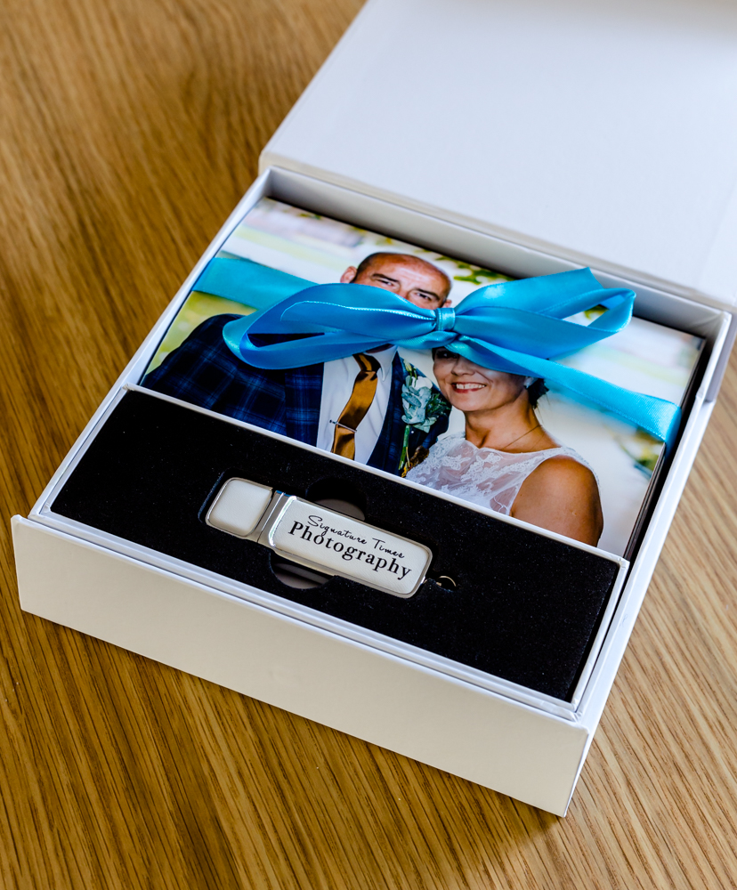 Presentation box included with silver and gold packages