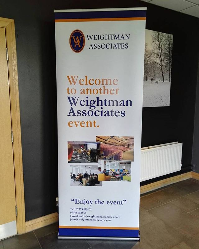 This is today's job, another corporate do with Weightman Associates at Kingston Park