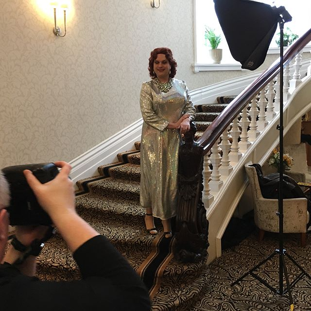 Today we have been working at the Grand hotel shooting the promo images for The Producers being performed by Astravaganza Entertainment