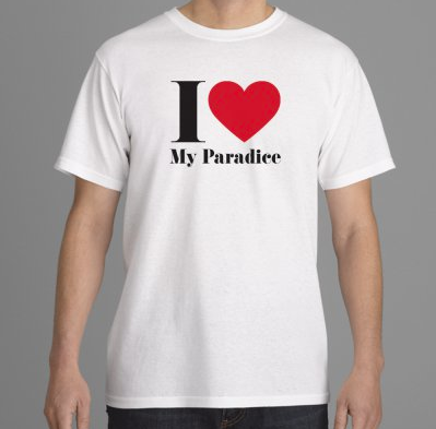 I <3 My Paradice, T-shirt ₹2 182