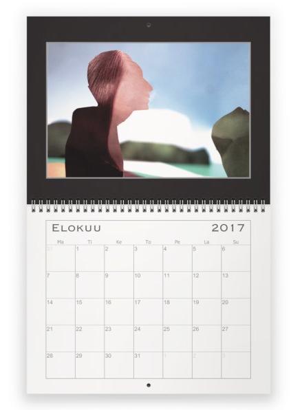 Paradise Editorial Calendar ¥3221
