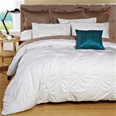 Textured duvet cover