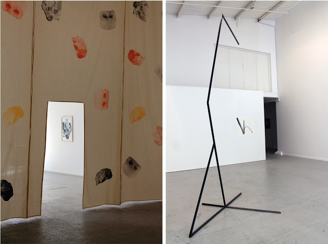 0.55 , Structures and Spaces (Denyer, Edwards & Watts) Installation shot at No Format Gallery, London, 2013.
