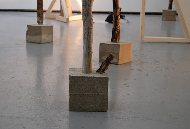 Structures and Spaces (Denyer, Edwards & Watts) installation shot at Norden Farm Arts Centre, Maidenhead 2012.