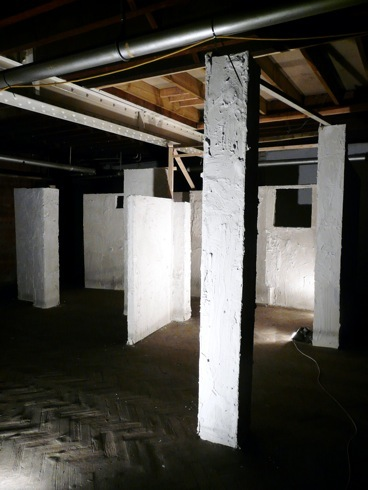 Half Built Sight , JTP10, James Taylor Gallery. Installation Adam Watts, 2011.