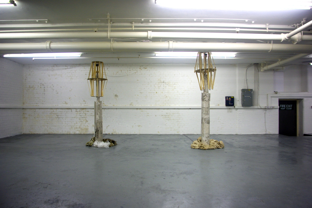 The Two Beacons , Empty Sets, Waterside Contemporary, London, Adam Watts, 2011.