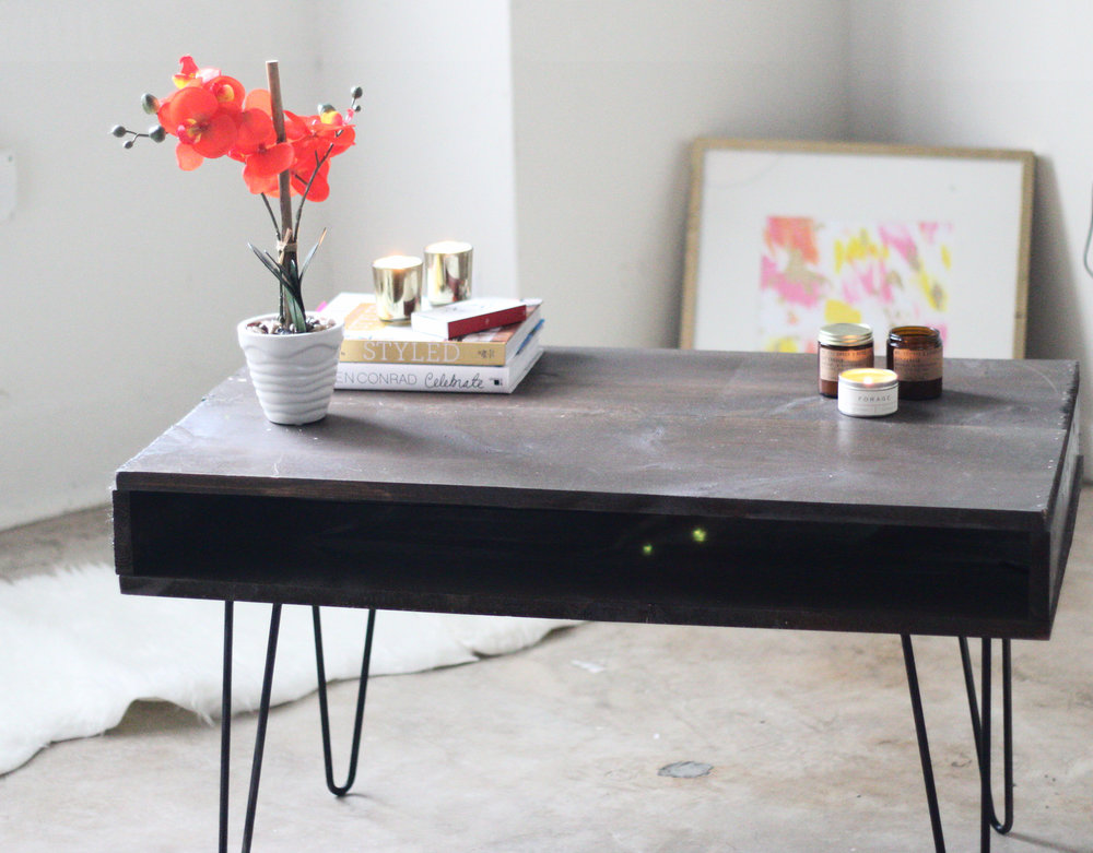 west elm coffee table hack