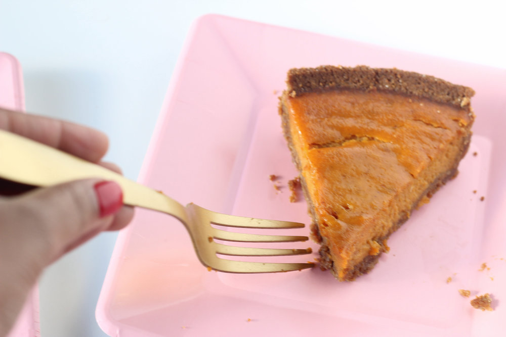 Dairy Free Easy Pumpkin Pie on Ballad of Bright