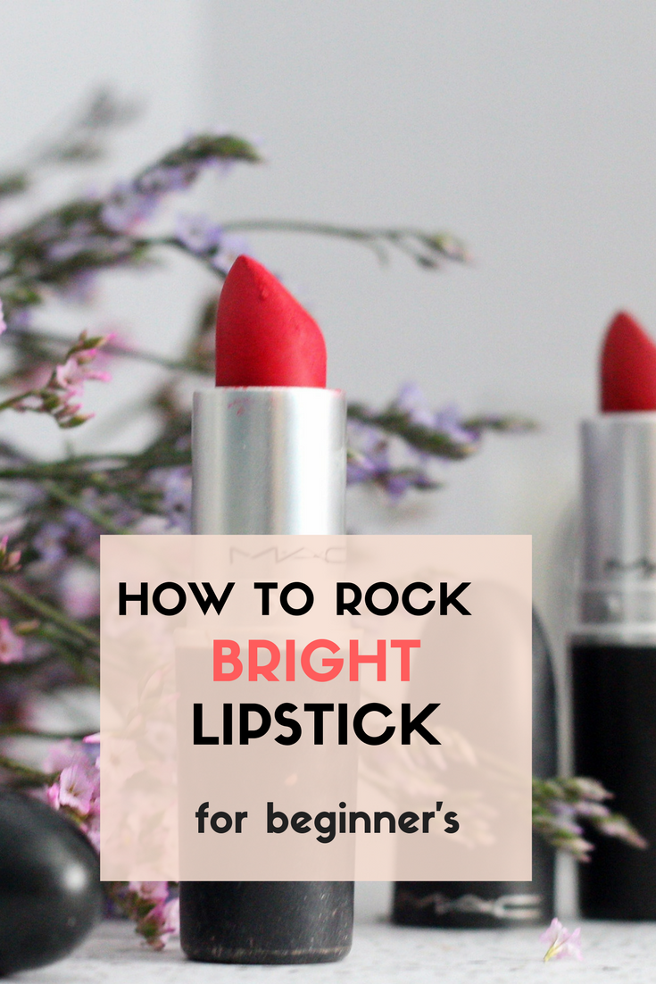 How to Master Bright Lipstick