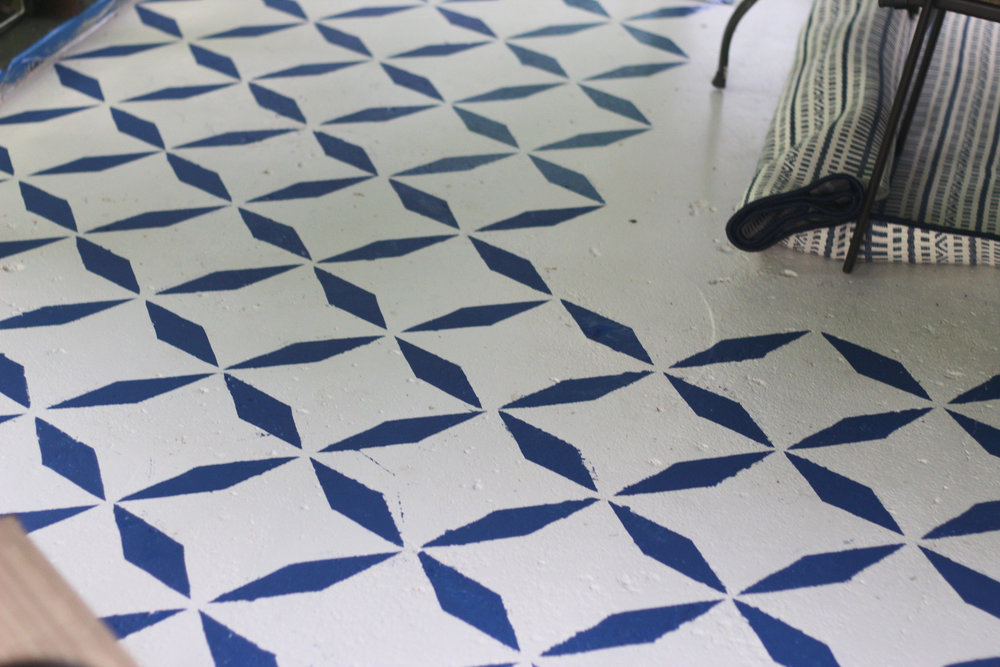 balladofbright-DIY floor stencil-6