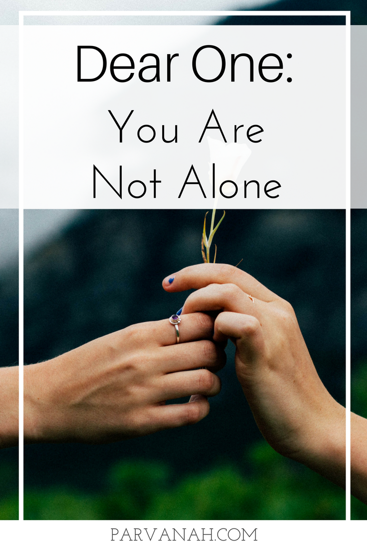 Dear One: You are not alone. It's easy to feel disconnected from your inner self when you're in the whirlwind of schedules and meetings, to-do lists and responsibilities. It can feel hard – almost impossible – to find time for  you . Your needs. Your wants. Your desires. Your cravings. Your dreams. Your goals. You are not alone.