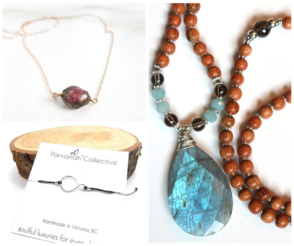 A spiritual jewelry company built out of a love for meaning + simplicity + Nature. Offering minimalist jewelry inspired by numerology, crystals, and morse code, as well as custom mala necklaces and mala kits.