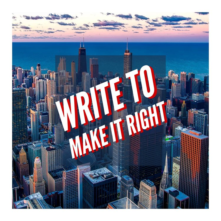 Write to Make it Right