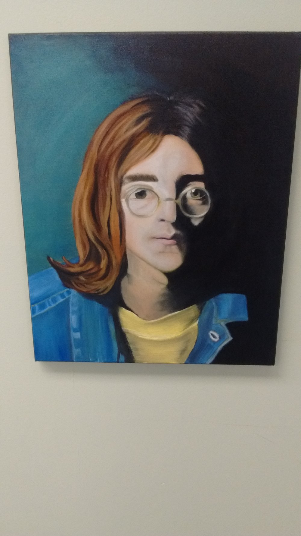 Portrait made by one of our students in 9th Grade!