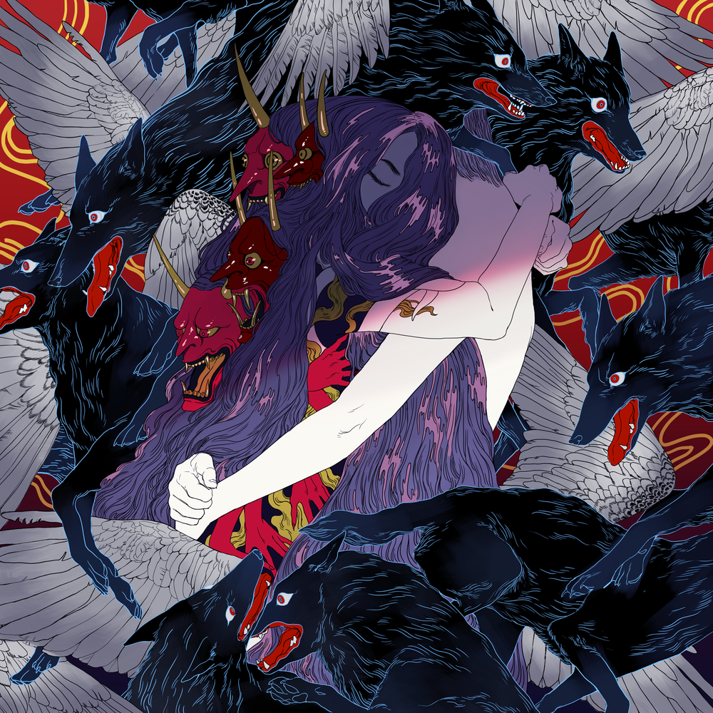 Single cover illustration for DABIN LEE's Lilith