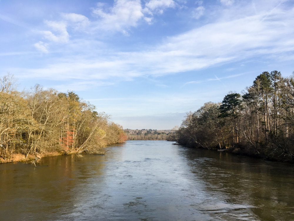 Chattahoochee River, March 10, 2018