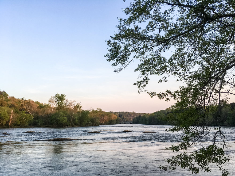 Chattahoochee River, April 12, 2018