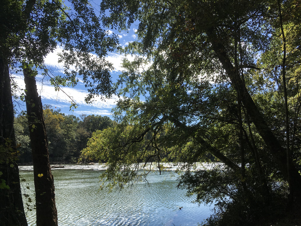 Chattahoochee River, October 18, 2018