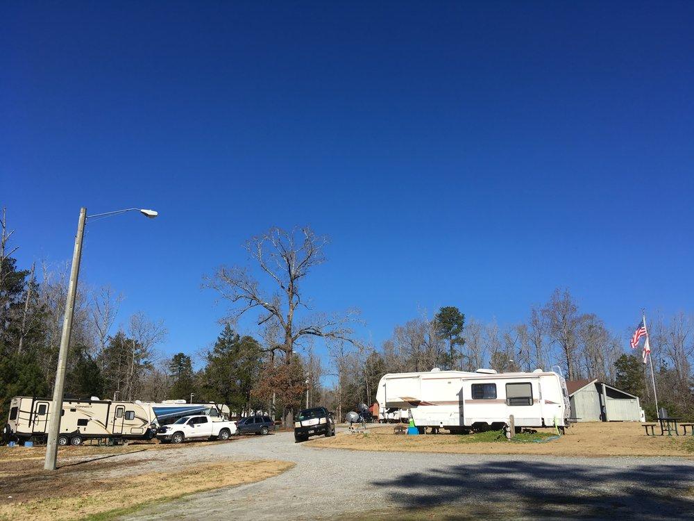 Campground, December 24, 2018