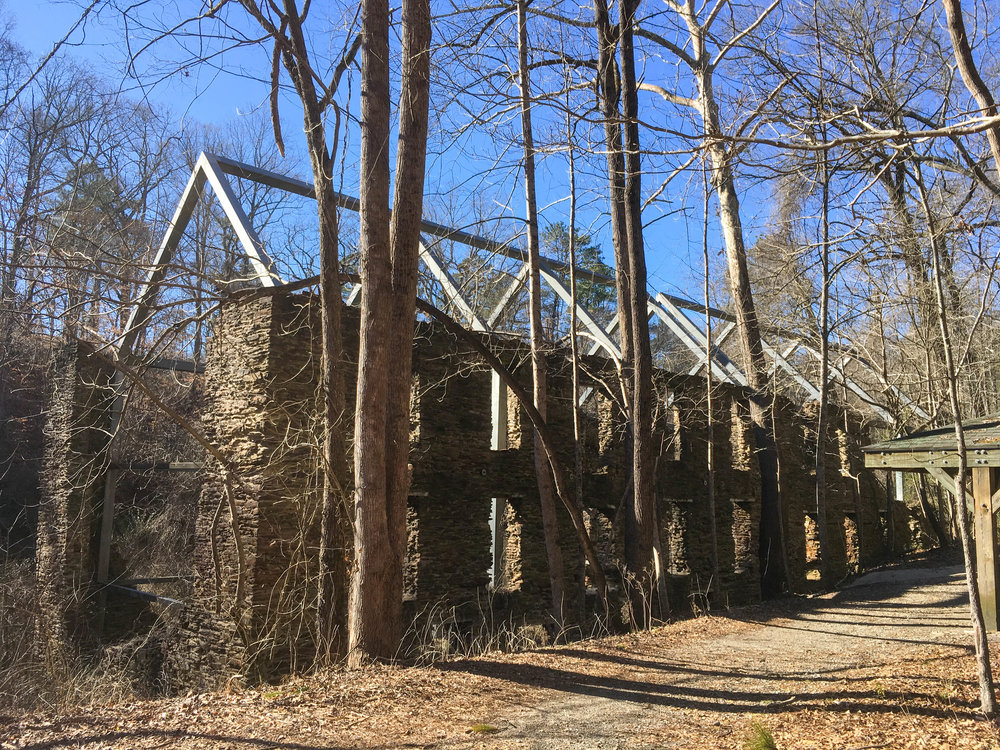 Concord Woolen Mill Ruins, January 21, 2019
