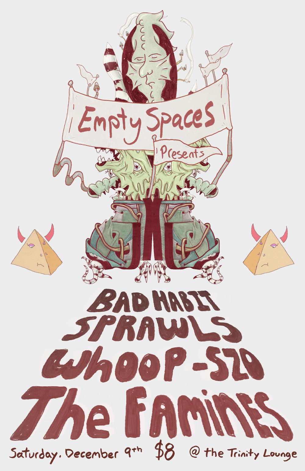 Empty Spaces music poster 2017