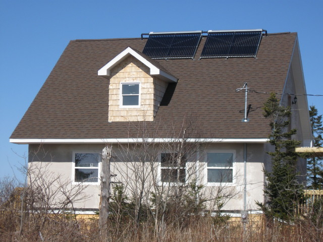 Solar on a straw bale home.jpg